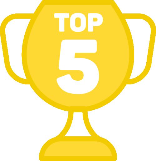 Medalha TOP 5